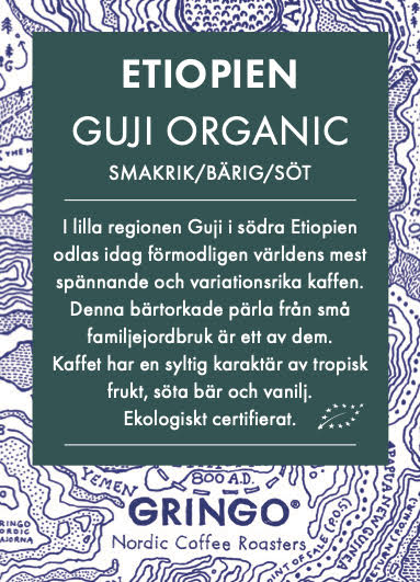 Etiopien - Guji Organic