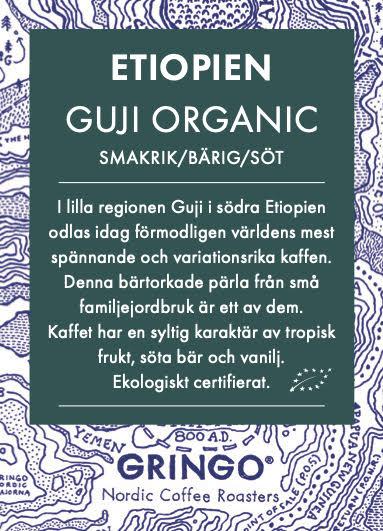 Etiopien - Guji Organic Råkaffe