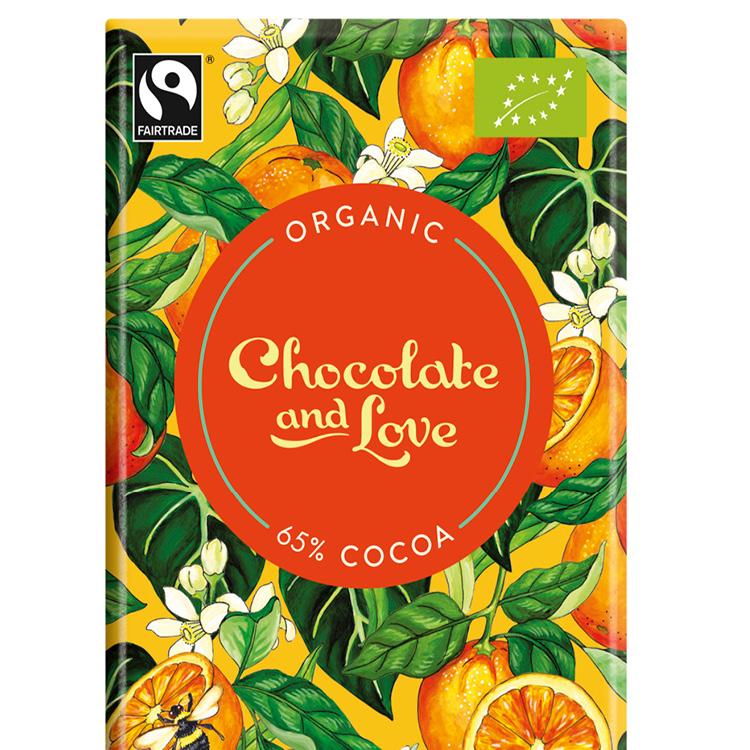 Chocolate & Love - Orange