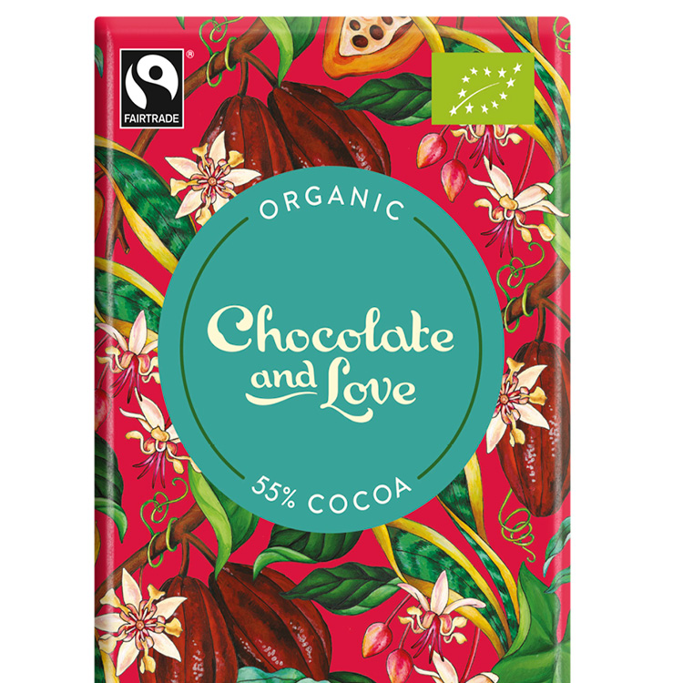 Chocolate & Love - Creamy Dark