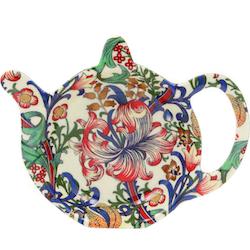 Tepåsfat - William Morris New Golden Lily