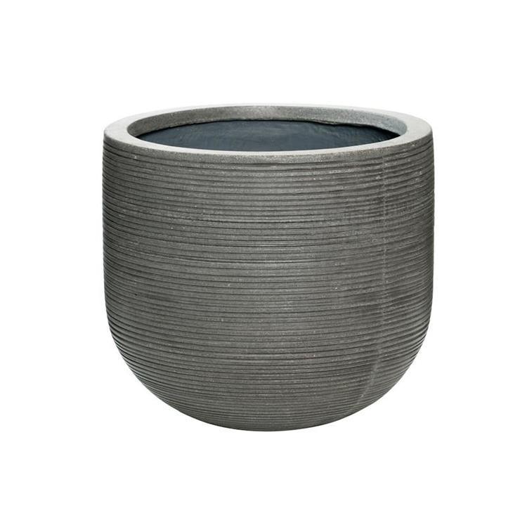 Cody m, Horizontally ridged gray 35 cm