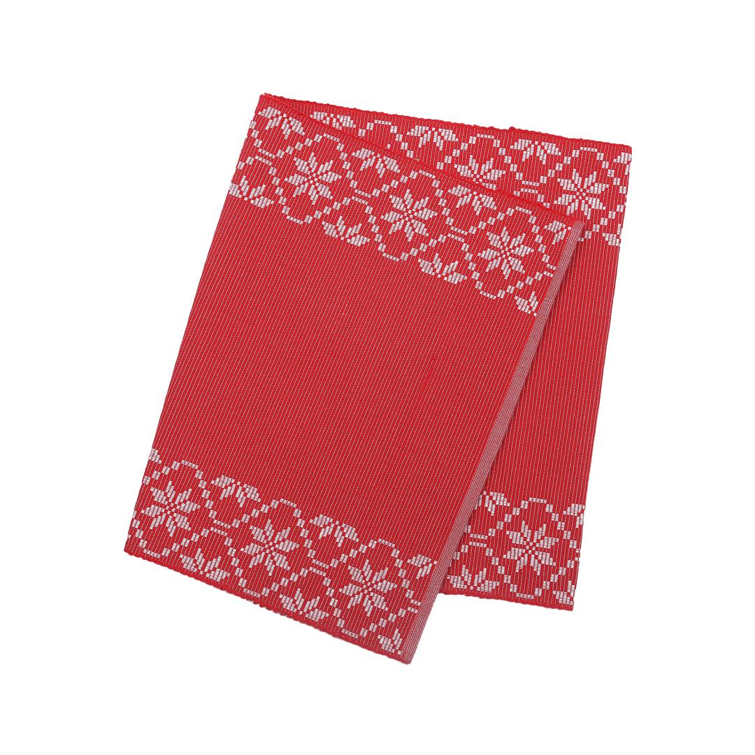 Löpare ♻ Emma 33x120cm Röd
