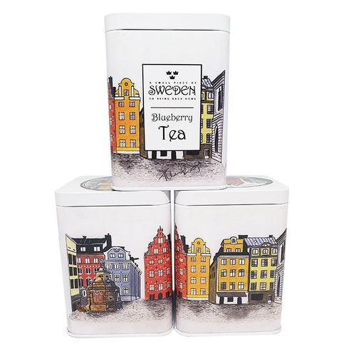 The taste of Gamla Stan Blueberry Tea