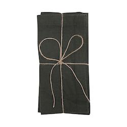 Servett 2 -pack Meja Olivgrön