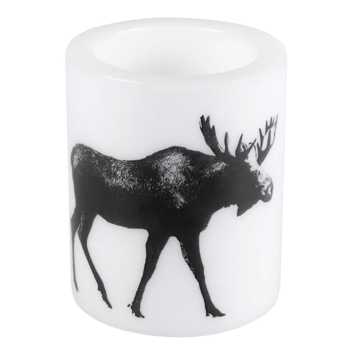 Nordic candle 12cm The Moose