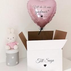 Ballong i låda