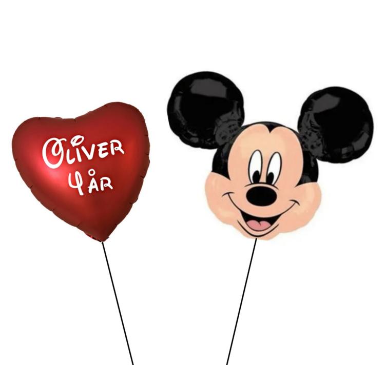 Mussepig+Personlig ballong