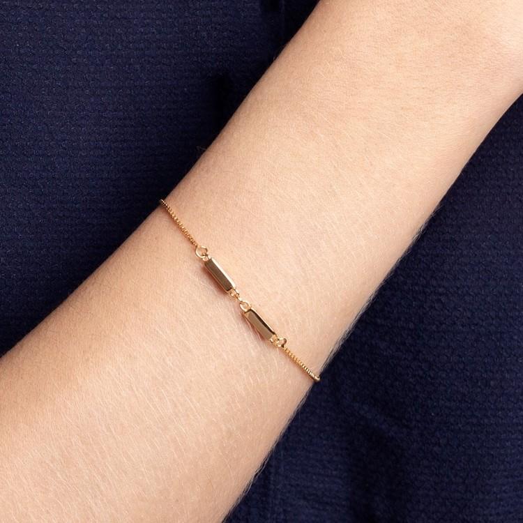 Linked bracelet