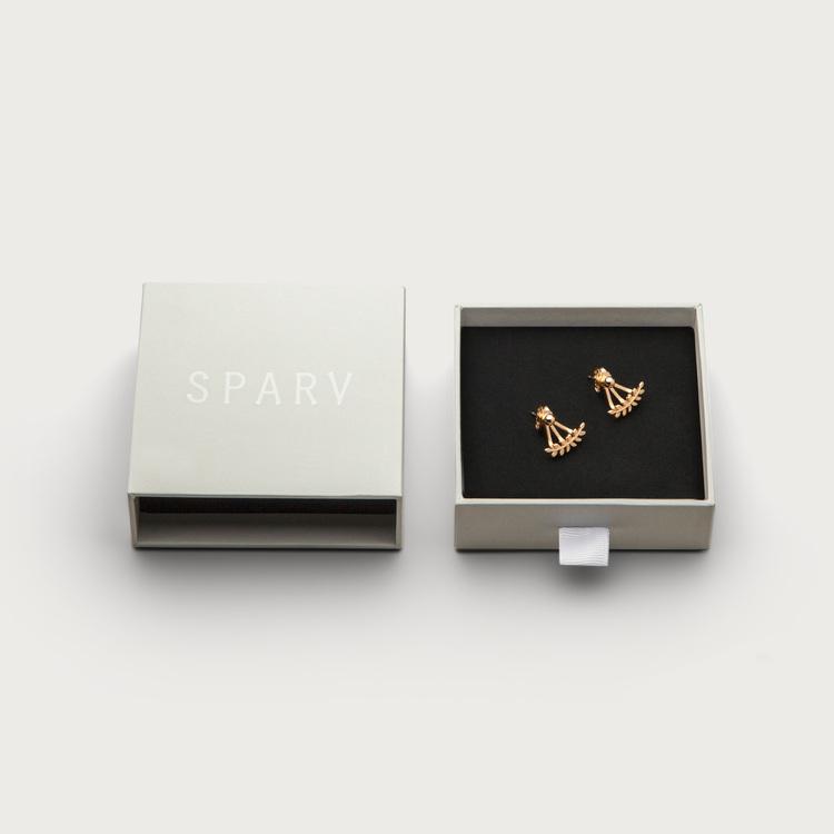 Leaf earrings box