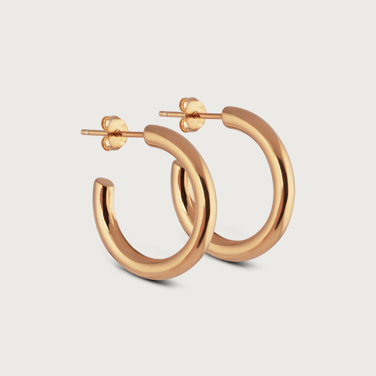 Vacay earrings gold plated