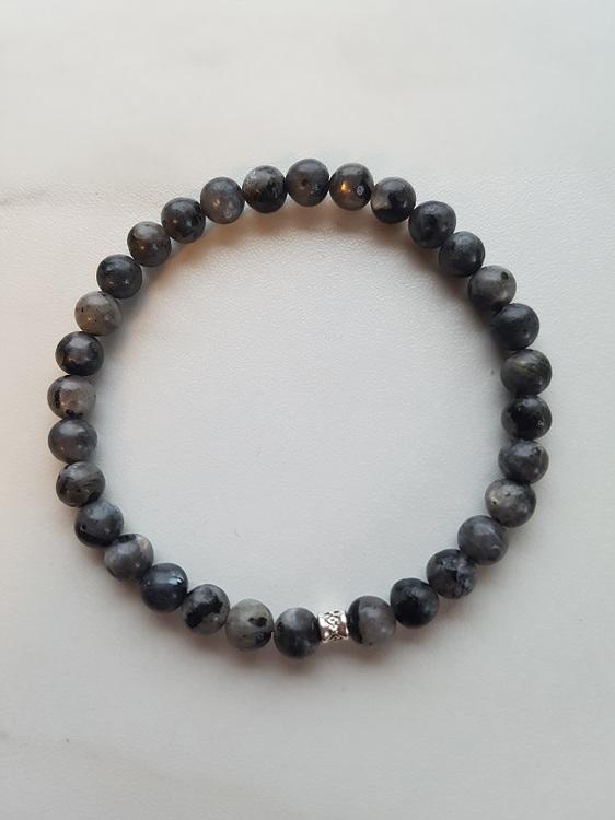 Larvikitt 8 mm perler