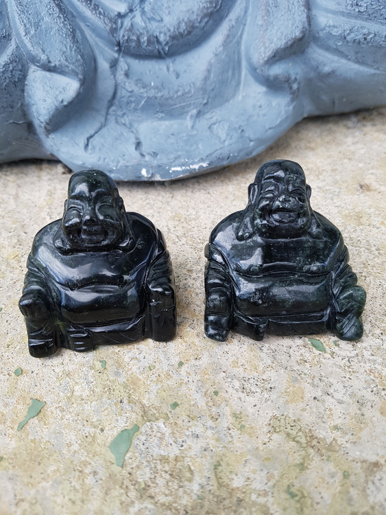 Buddha svart onyx