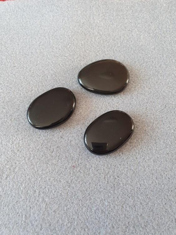 Obsidian svart
