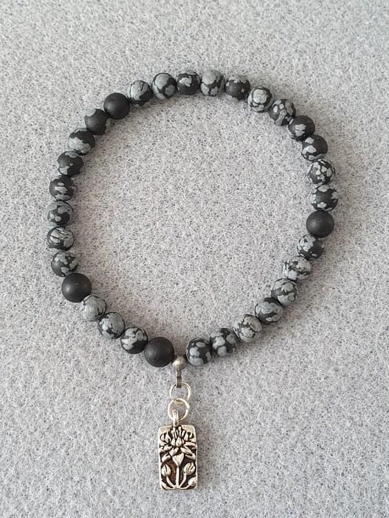 Snøfnugg obsidian