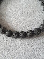 Lava stein svart