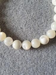 Perle natur hvit