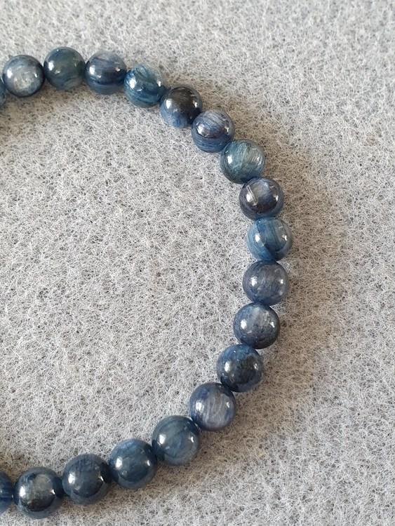 Blå kyanitt 6mm