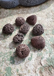 Lava brun, Kina