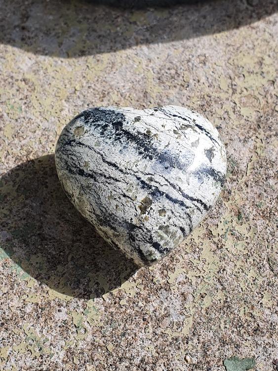 Silver leaf jaspis 4,5 cm