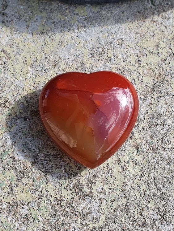 Agat rød 4,5 cm