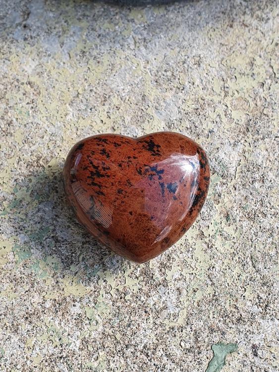 Obsidian mahogny 4,5 cm