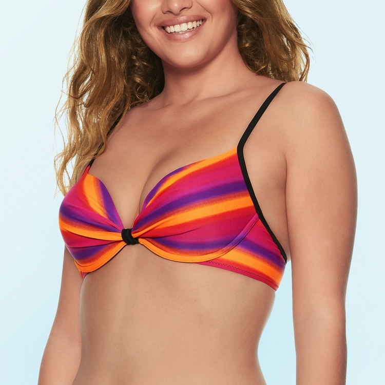 Wiki Zaragoza Push up bikini top
