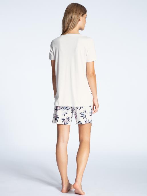 Calida Cosy Flowers short pyjamas