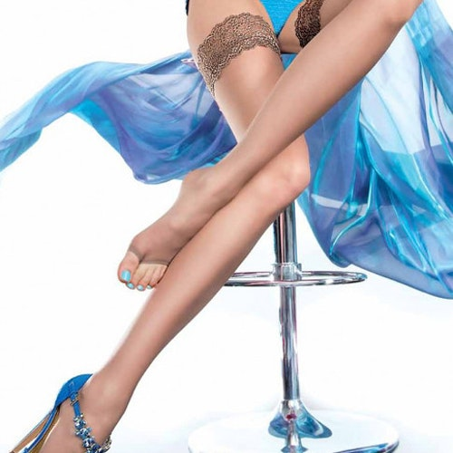 Fiore Eluxa toeless Hold Ups