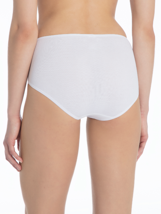 Calida broderad MIDI brief VIT