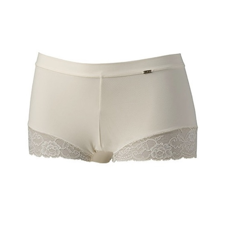 Avet Micro Lace Boxer Ivory
