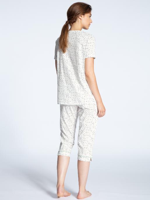 Calida Cotton Jersey capri pyjamas