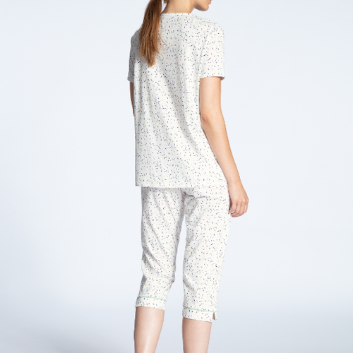 Calida Cotton Jersey capri pyjamas