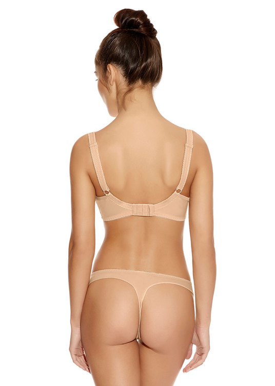 Freya Deco Nude Moulded Plunge bh