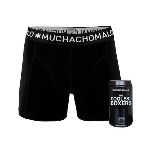 Muchachomalo kalsonger 1 pack män Boxershorts svart