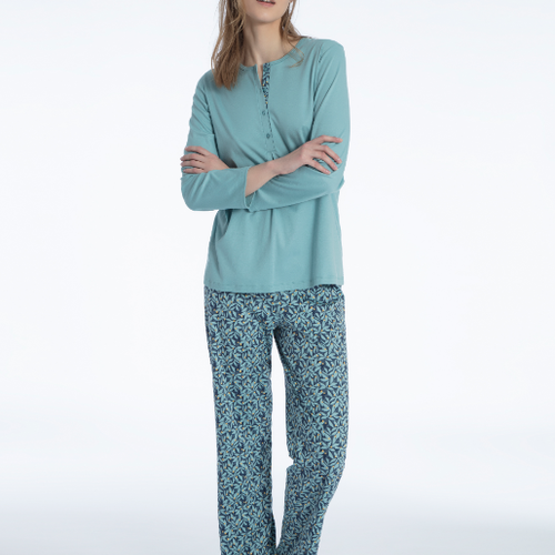 Calida Nadia pyjamas Blue Lilly