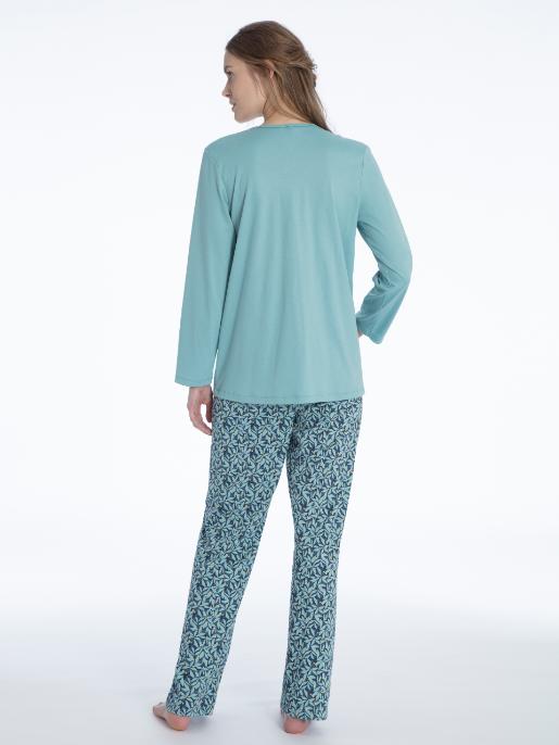 Calida Nadia pyjamas Blue Lilly