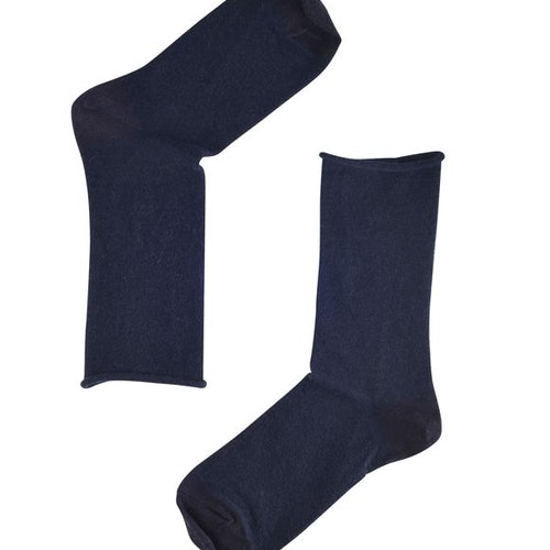 NOTE by Syversen rullsockar ull Navy