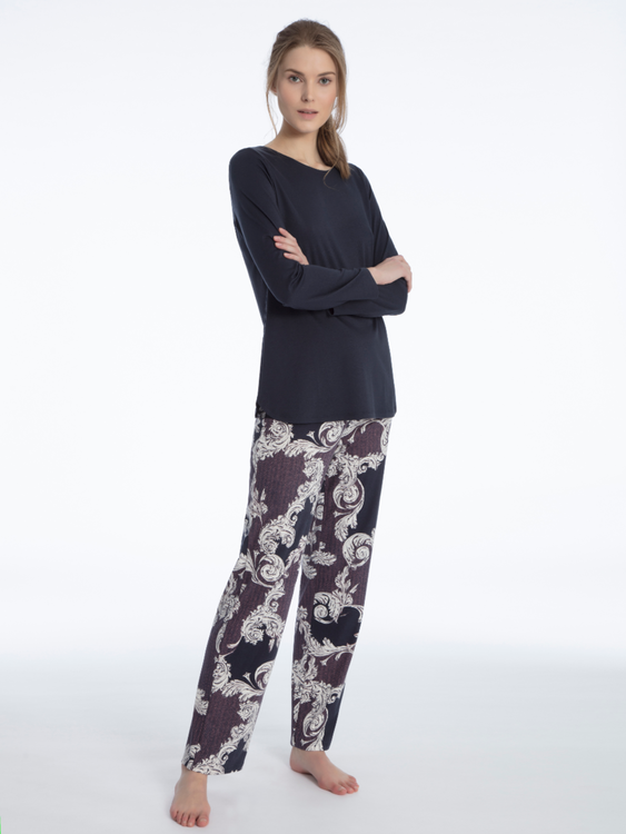 Calida Shirin pyjamas Parisian night