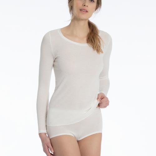 Calida True Confidence ull och silke långärmad tröja