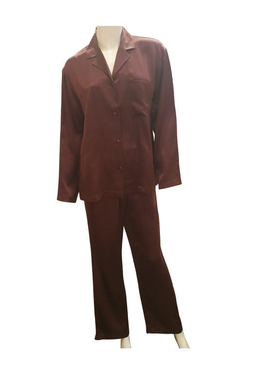 Damella Silke pyjamas Aubergine