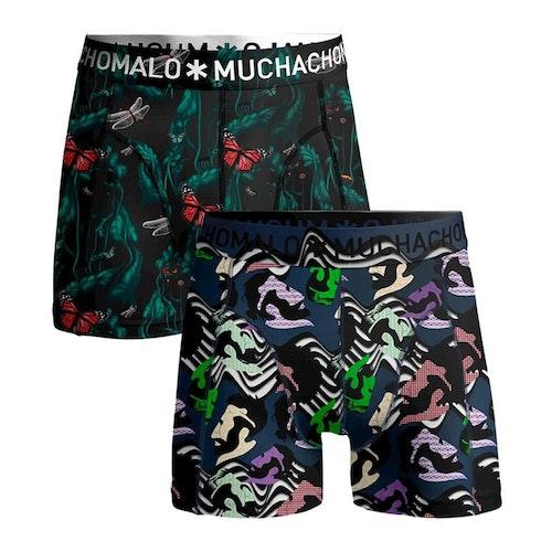 Muchachomalo kalsonger Män 2 pack boxer shorts Woman