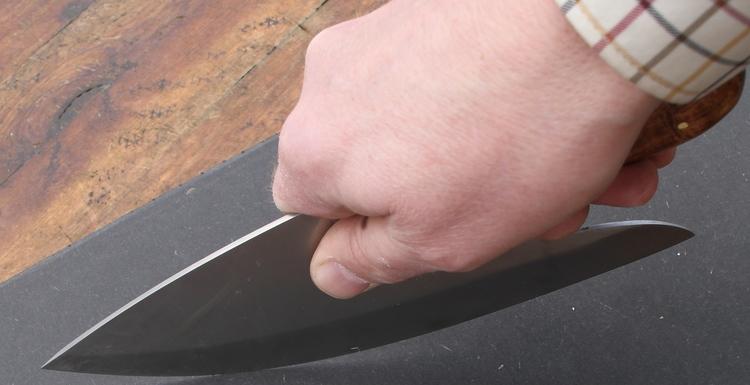 Damast Küchenmesser a´la Rickard