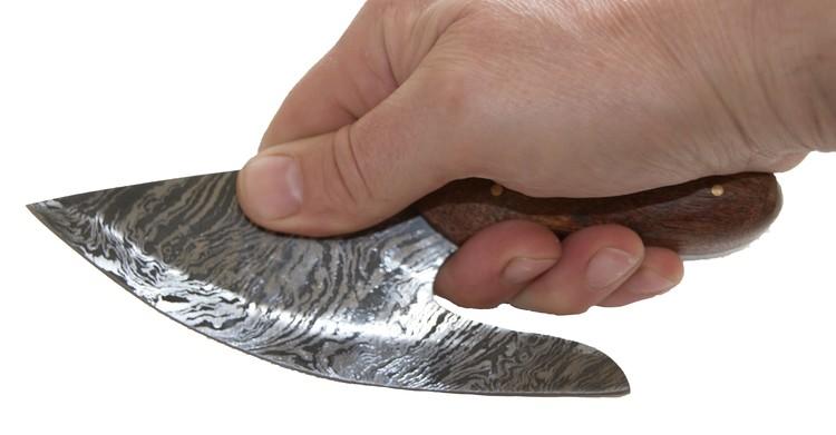 Damast Küchenmesser a´la Rickard Jr