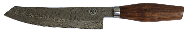Damast Santoku-Messer