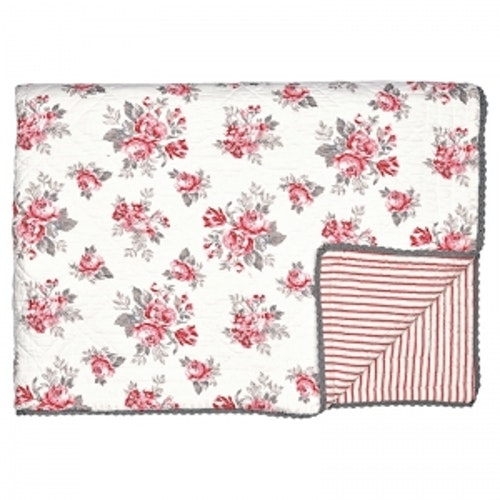 Greengate Bed Cover Shirley White 180x230cm