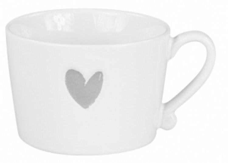 BC Collections Mug Grey Heart