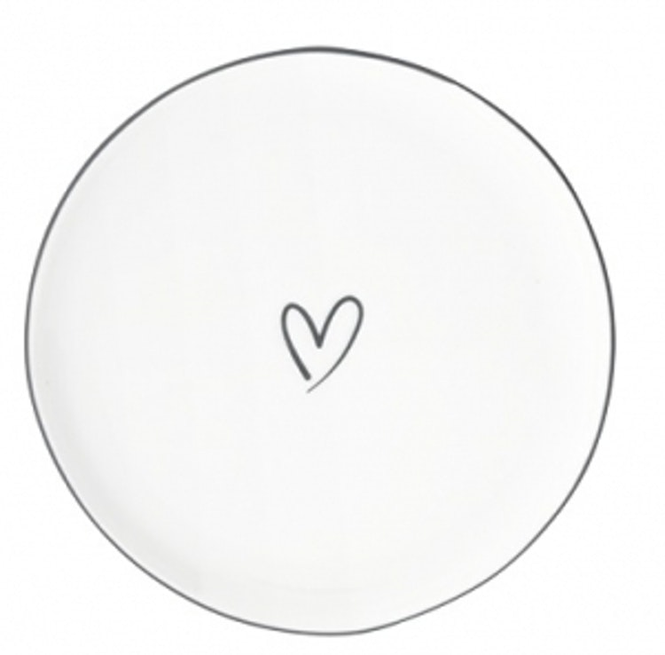 BC Collections Cake Plate Heart