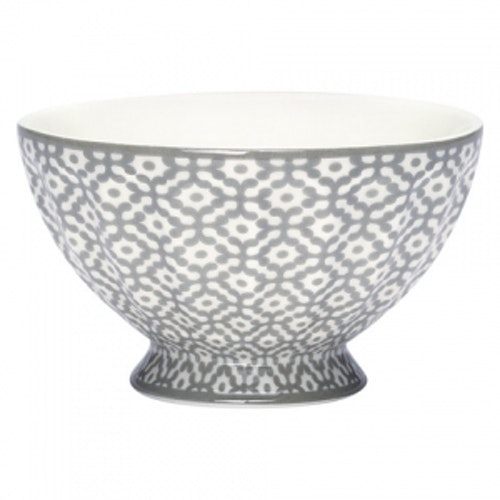Greengate French Bowl XLarge Jasmina Warm Grey