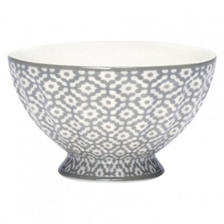 Greengate French Bowl XLarge Jasmina Warm Grey